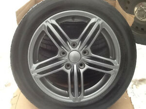 Tire's and rims new 205 55 16 Audi A4