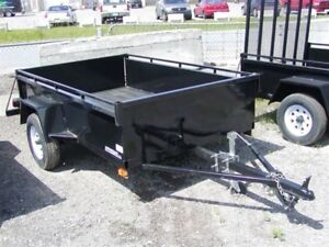 Storage for Utility Trailer