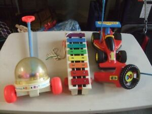 "VINTAGE  ""FISHER-PRICE"" TOYS"
