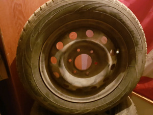 Snow Tires brand new on steel rims P225/60/16