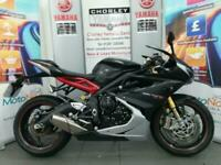 TRIUMPH DAYTONA 675 R 9191 MILES 15 PLATE OHLINS DELIVERY ARRANGED for sale  Chorley, Lancashire