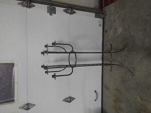 Metal free standing candelabra Kitchener / Waterloo Kitchener Area image 1