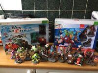 Disney infinity figures and game Xbox 360