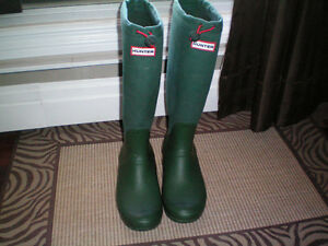 Hunter Tall Special Edition Womens Boots Size 10