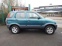 Daihatsu Terios Tracker 4x4 - 1.3cc Auto 5 Door Hatch Back