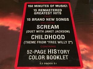 RARE Michael Jackson History Book 1 Vinyl 3 LP Box Set NEW West Island Greater Montréal image 5