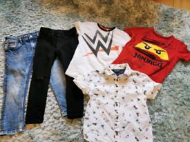 Bundle Boys Clothes age 3 4