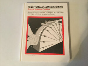 Tage Frid Teaches Woodworking Shaping, Veneering, Finishing