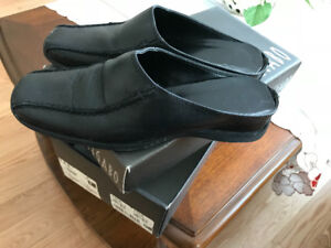 Leather shoes made in italy