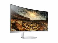"Samsung CF791 QLED 34"" Ultra Wide Monitor"