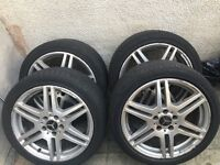 "Mercedes Amg Alloys Genuine Staggered 18"" px Welcome"