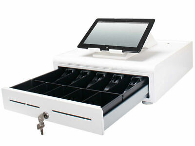 Apg Cash Drawer Stratis Point Of Sale Tablet Integration System White New