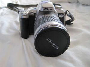 Nikon F75 SLR Film Camera with Built in Flash