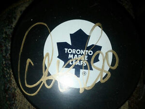 TORONTO MAPLE LEAFS AUTOGRAPHED PHOTOS AND PUCKS Edmonton Edmonton Area image 6