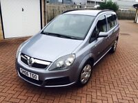2006 newer shape Vauxhall Zafira