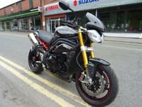 2012 62 Reg Triumph Spedd Triple R lots of goodies