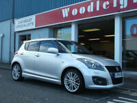 2014 SUZUKI SWIFT 1.6 SPORT + NAV,5 DOOR,UPTO 5 YEARS 0% FINANCE AVAILABLE OR