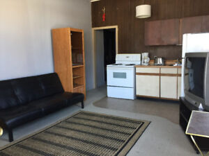 Close to downtown...partially furnished...includes utilities