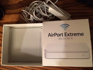AirPort Extreme 802.11n Wi-Fi Wireless Base Station