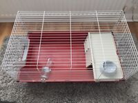 Rabbit guinepig cage pets at home