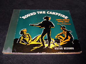 Texas Jim Robertson - 'Round The Campfire (1941) 78 t Country