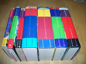 Complete Lot of 7 Harry Potter Books - Ages 10 - Adult