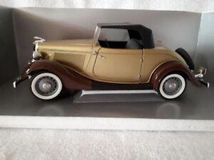 (27) 1934 Ford Roadster Die cast