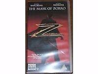 VHS The Mask Of Zorro - Antonio Banderas