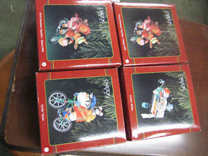 4 Assorted Christmas Decorations