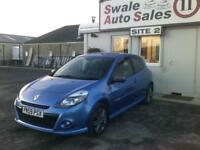2010 RENAULT CLIO GT 1.6L -127 BHP - 60,385 MILES - SERVICE HISTORY - IMMACULATE