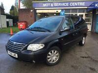 56 plate Chrysler Grand Voyager 2.8CRD auto Limited XS stow and go LOW MILES