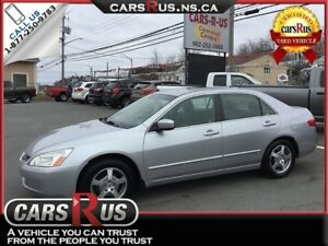 2005 Honda Accord Hybrid 4dr V6 leather heated seats!!