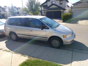 Honda Odyssey van.