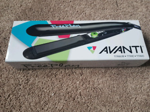 Brand new, in box Avanti Titanium Hair Straightener