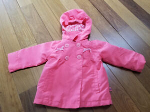 Girls Fall / Spring Coat - size 6 - 9 mths