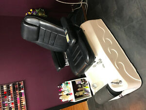 Dragon Foot Spa Chair and Massager Combo