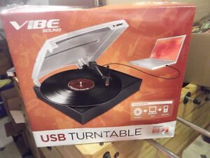 USB turntable New in box Barrie reduced  $70 or BO