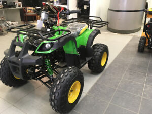 New Mid Size 125cc Kids ATVs for $799.99!