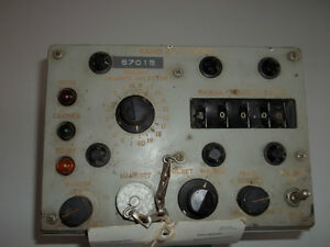 NEW PRICE !!! Vintage Radio Set Control from HMCS IROQUOIS