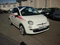 2010 Fiat 500 1.2 ( 69bhp ) LOUNGE Finance Available