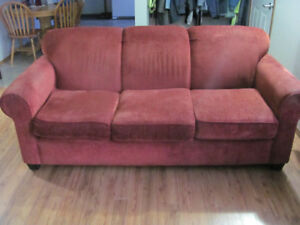 Couch and Loveseat: Moving