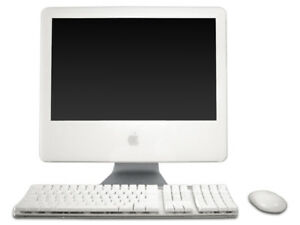 "Apple 17"" All-in-One iMac 4.1 Core Duo 1.86GHz 1GB RAM 160GB HDD"