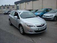 2011 Vauxhall Astra 1.7CDTi 16v ( 110ps ) Exclusiv Finance Available
