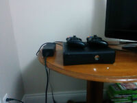 Xbox 360 With 2 Controllers in Excellent Condition