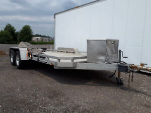 2007 ALUMA CAR HAULER TRAILER