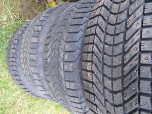 4 p235/55r17 winterforce tires 2355517