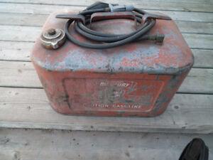 Mercury, Gas Tank