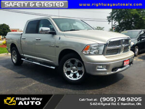 2010 Dodge Ram 1500 Laramie Crew | 4x4 | SAFETY & E-TESTED