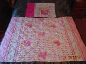 Barbie Quilt and Pillowcase