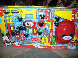 mickey mouse clubhouse mousekadoer tool set. ages 3 and up..
